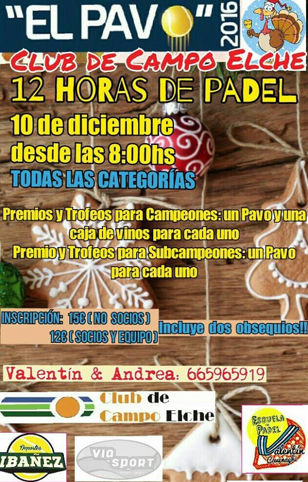 Torneo Padel El Pavo