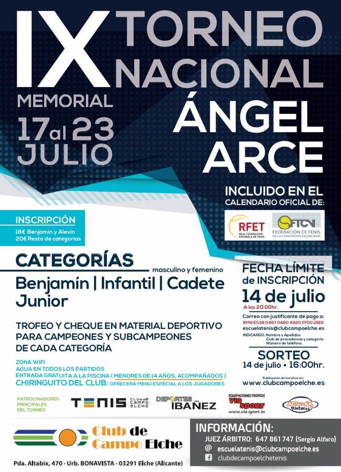XI Torneo Nacional Ángel Arce