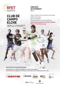 torneo del circuito aficionados en el Club de Campo Elche